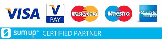 Sumup Card Logos